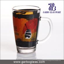 Coupe en verre décalable de 12 oz avec poignée (GB094212-QT-104)