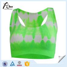 Frauen Großhandel kundenspezifische gedruckte BH Sportbekleidung