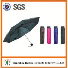 OEM/ODM Factory Supply Custom Printing three section manual open umbrella