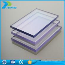 Installation facile en polycarbonate solide pc prix au volet