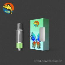 Chicago trending 0.5ml full glass thick oil cbd vape pen cartridge BANANATIMES all ceramic coil vape cartridge 1ml