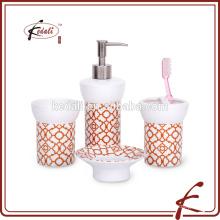 S / 4 фарфоровые аксессуары для ванной комнаты для дома