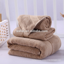 100% cotton good quality hotel skin-friendly embroidery dobby white bath towel