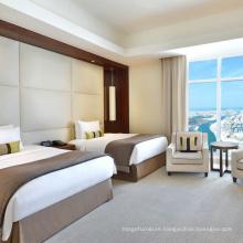 Modern Luxury Hotel Bed Room Furniture Cloth Bedroom Set