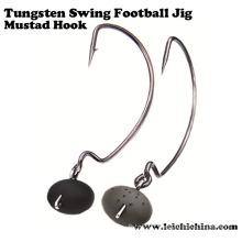Vente chaude Tungsten Swing Football Jig Head