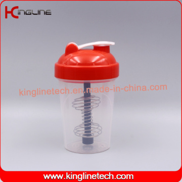 Bouteille en plastique de shaker de 500 ml Avec bielle (KL-7032E)