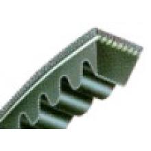 Courroie trapézoïdale à bord brut enveloppé classique en caoutchouc (AV22 * 1160)