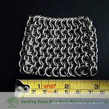 2015 alibaba china manufacture 7mm extra grande correo de cadena Scrubber para hierro fundido