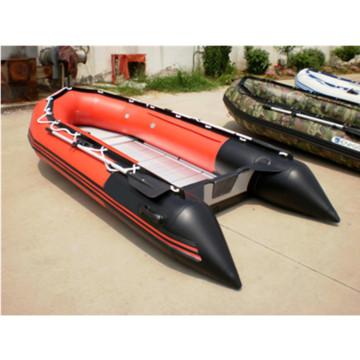 Barco inflável do assoalho CE 360 borracha PVC alumínio