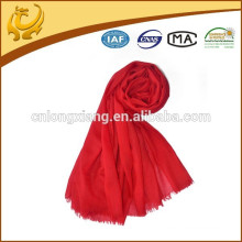 Super Soft Handing Haute qualité 100% foulards en laine à la mode avec Tassel