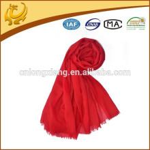 Super Soft Handing de alta qualidade 100% lã lenços de moda feminina com borla