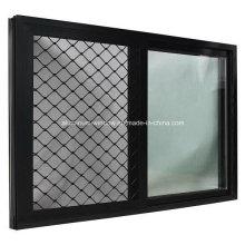 Double Glazing Aluminium/Aluminum Alloy Bathroom Sliding Windows