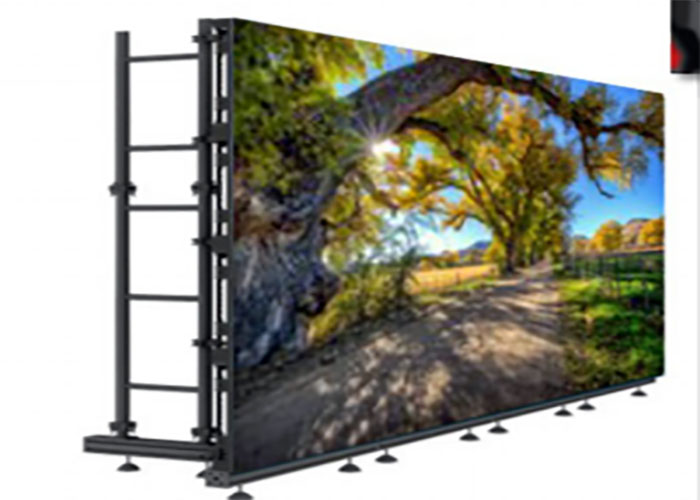 slim light weight rental led display for stage