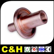 Pièces de tournage usinées CNC en laiton / cuivre pour machine automatique