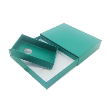 Green Simple Drawer Paper Gift Box