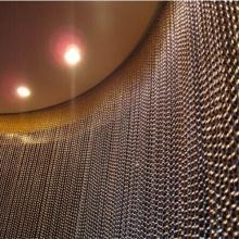 Rede de arame decorativa para cortina de parede