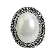Perla de la perla de la manera redonda para la pulsera del accesorio de la pulsera del collar
