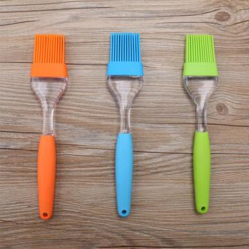 Picnic Tool Silicone Brush With PS Handle for Kitchen