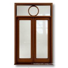 Exterior Solid Wooden Door Glass Door