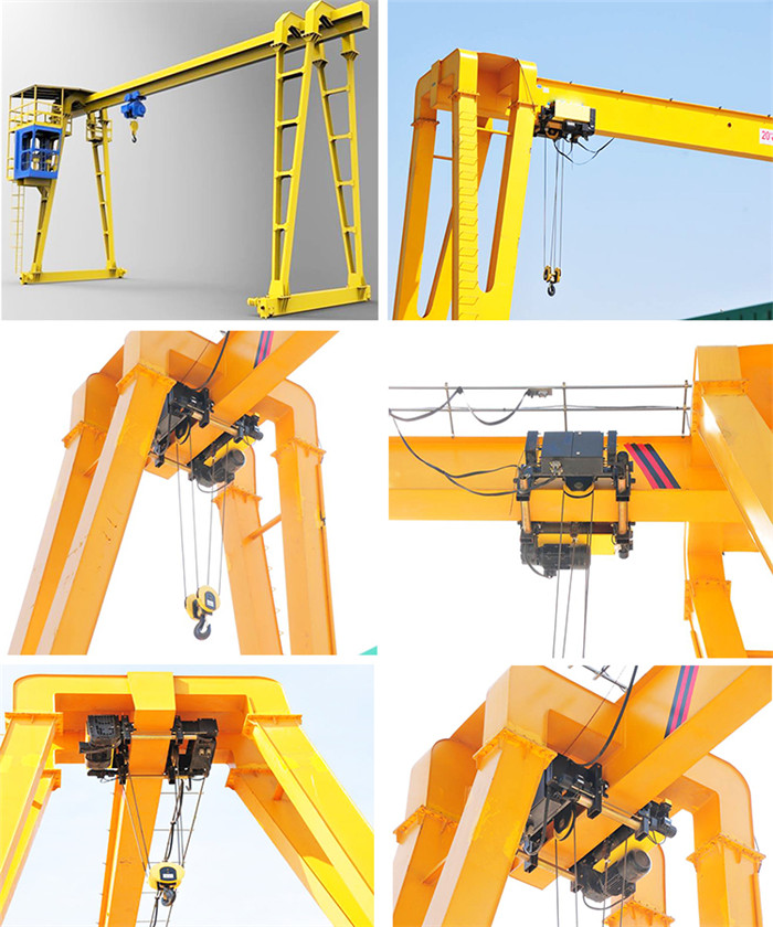 20 Ton Single Beam Goliath Crane