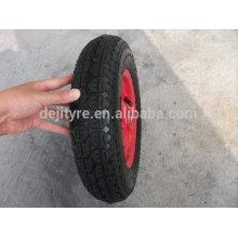 Wheelbarrow's 3.50-7 air rubber wheel