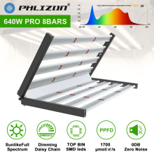 Dimmable 8 Bars Foldable Led Grow Light 640W