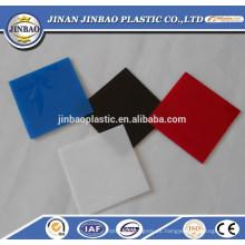 excelente placa de plástico acrílico para productos electrónicos