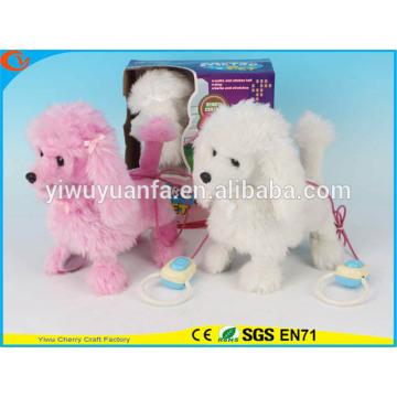 Очаровательная Мода Детские Игрушки Красивые Пешеходные Электрический Пропустить Плюшевая Собака