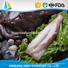 Produits marins fantastiques avec poisson de lotte