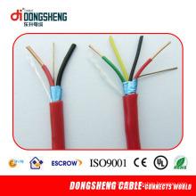 PVC 4 núcleo cabo de alarme de incêndio com PVC Lzsh vermelho