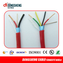 Высококачественный 2/4/6/8/10/12 Core Security Cable / Fire Alarm Cable