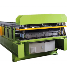 China Full Automatic High Speed Corrugated Metal Roofing Sheet Panel Rolling Making Machine