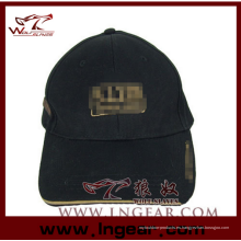Alta calidad en blanco militar tapa plana tapa sombrero