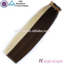 Китай завод Оптовая чистый Реми итальянский кератин нарисованный двойник кутикулы я Tip волос