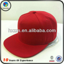 Liso vermelho caps snapback
