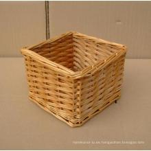 (BC-WB1013) Canasta natural hecha a mano de la alta calidad del sauce / cesta del regalo
