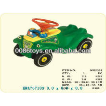 Carros plásticos do pedal para miúdos