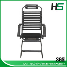 Cadeira de visita de elástico bungee preto de baixo preço