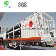 11-Tube Jumbo CNG Цилиндрическая трубка для перевозки контейнеров