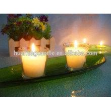 Huaming 7 jours bougies en gros Exporters / verre jar bougie religieuse
