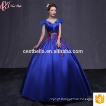 Vestidos de noiva de cetim Vestidos de quinceañera Custom Made High Quality Designer Rosa quente Vermelho Blue SweetHeart Evening Dress