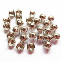 6mm Strips Faced Dome Studs