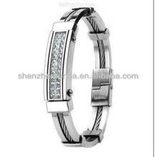 Nueva pulsera 2013 pulseras hechas a mano con estilo del mens