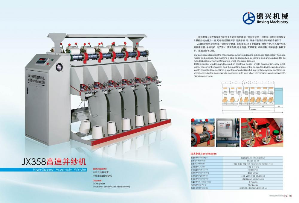 High-Speed Assembly Winder