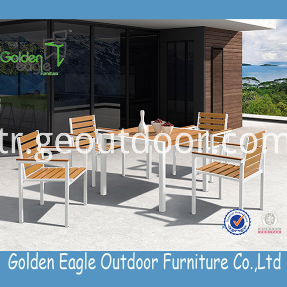Polywood Aluminium garden dining Furniture