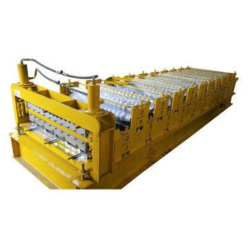 Máquina formadora de rolo para folha de cobertura