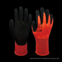 13G Polyester Latex Coated Gloves for Factory Use