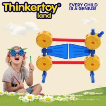 Kid plástico educativo intelectual de animales de juguete