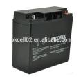 Bateria acidificada ao chumbo selada PK12180 12V 18Ah