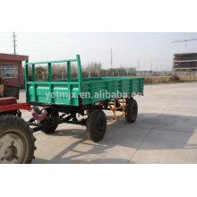 Double axle 25-30hp tractor farm trailer best price